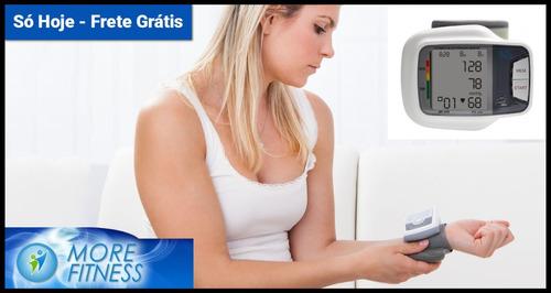 aparelho monitor medidor pressão pulso com voz more fitness