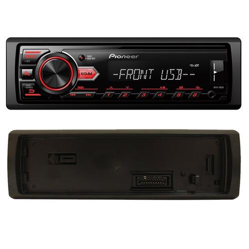 aparelho mp3 automotivo pioneer | usb aux + 4 alto falantes