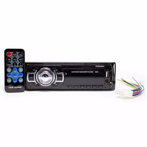 aparelho mp3 carro som rádio auxiliar controle pen drive