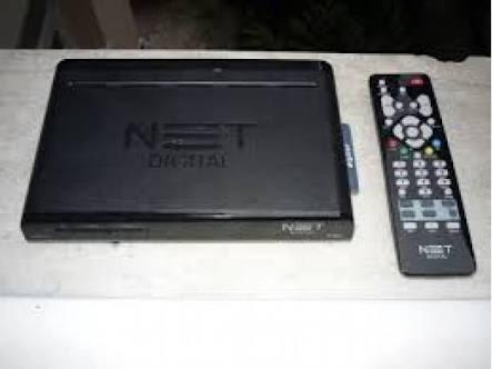 aparelho net digital com controle