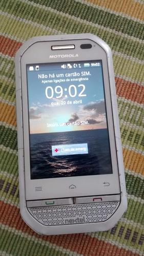 aparelho nextel i867 branco super novo