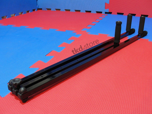 aparelho para alongamento e aumento da flexibilidade da abertura de pernas (espacate lateral) artes marciais, mma etc