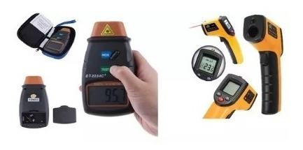 aparelho para testar rpm a laser + laser medir temperatura p