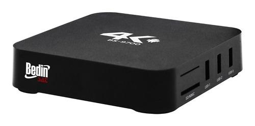 aparelho receptor smart box bs-9700 bedinsat 1gb 4k android