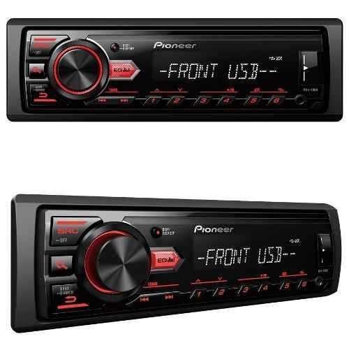 aparelho som pioneer mvh-098ub radio usb mp3 am fm