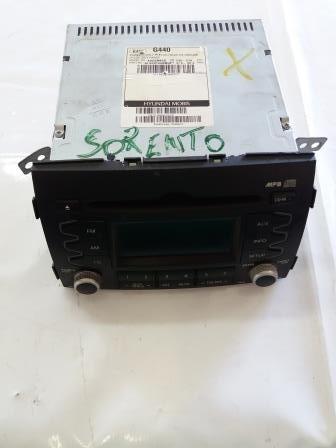 aparelho som / radio original kia sorento 2010 2011 2012