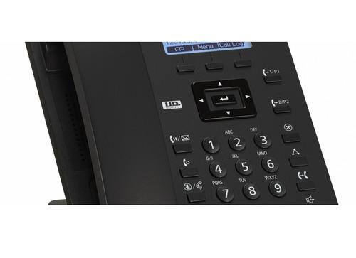 aparelho telefônico ip sip panasonic ks hdv 130 c/ fonte