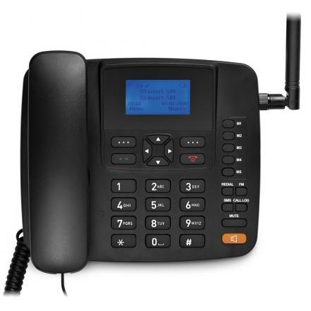 aparelho telefone rural 2 chip desbloqueado celular mesa 502