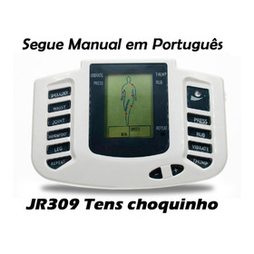 Aparelho Tens Fisioterapia, Choquinho, Manual Português