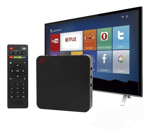 aparelho transformar tv em smart android 3gb ram