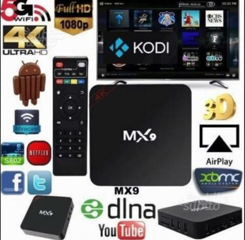 aparelho transformar tv em smart tv4k android7.1