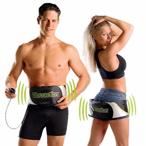 aparelho vibroaction cinta tonificadora abdominal