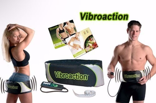 aparelho vibroaction cinta vibratória abdominal