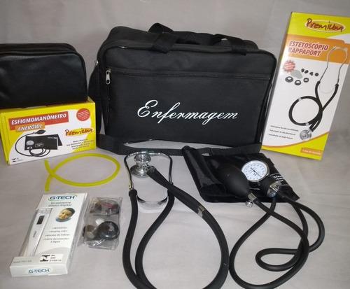 aparelhos para enfermagem preto premium