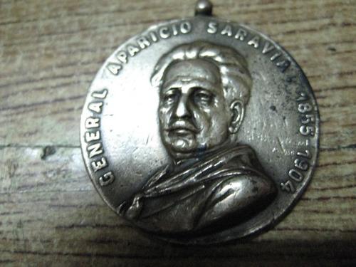 aparicio saravia - medalla rara 1930 -