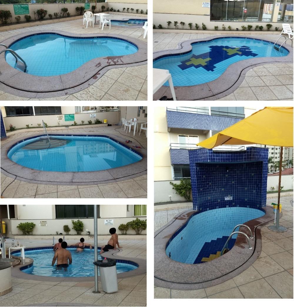 apart. 2 quartos - paradise flat residence - caldas novas-go