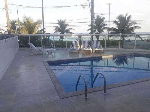 apart. na av. da praia com varanda gourmet/ piscina/wi-fi