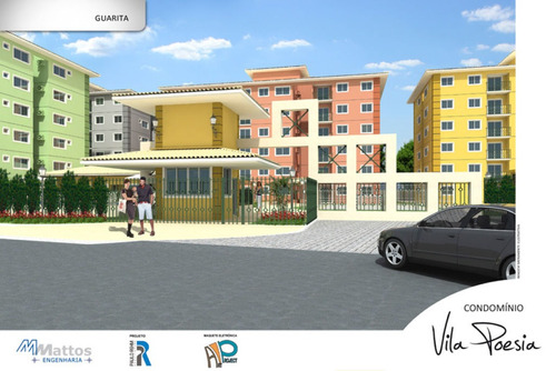 apart. no cond vila poesia., bairro: industrial    - cp6423