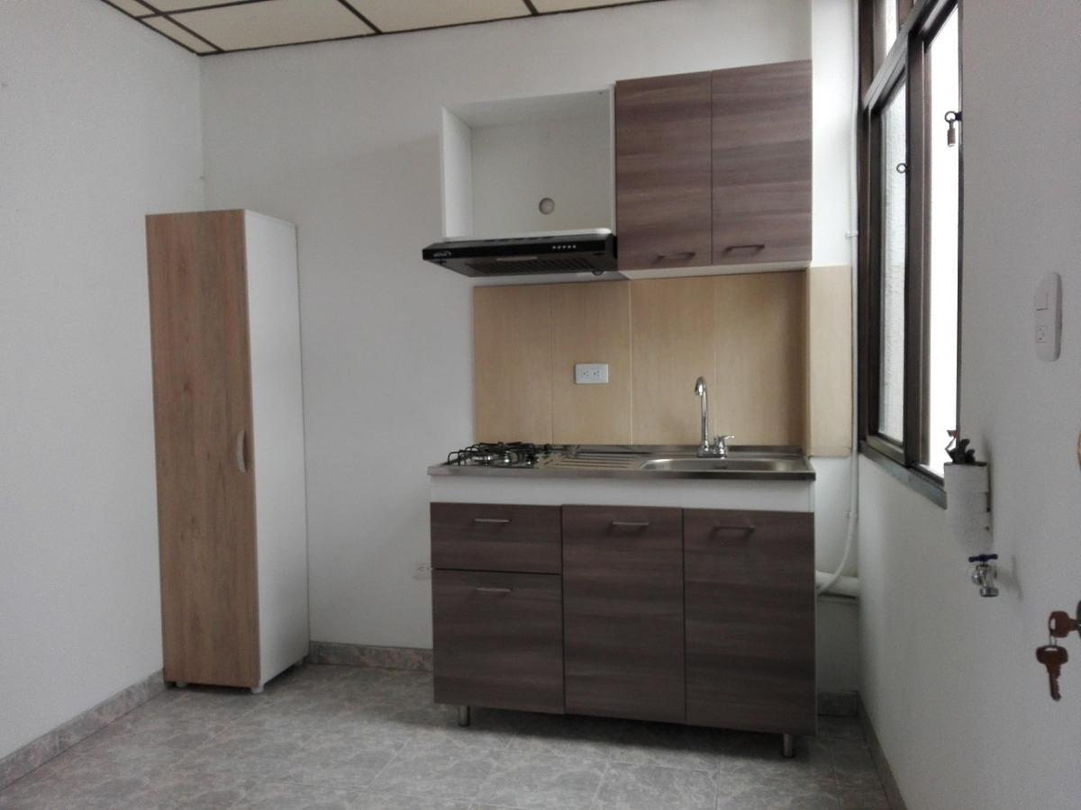 apartaestudio: 2 ambientes