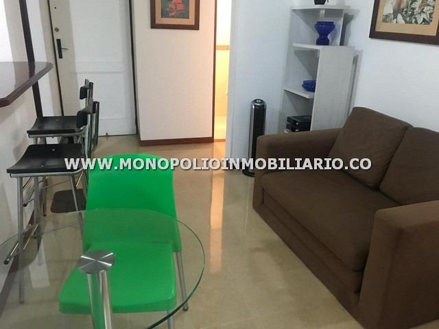 apartaestudio amoblado alquiler poblado cod: 14116