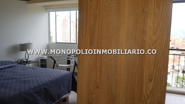 apartaestudio amoblado renta - belen cod: 9897