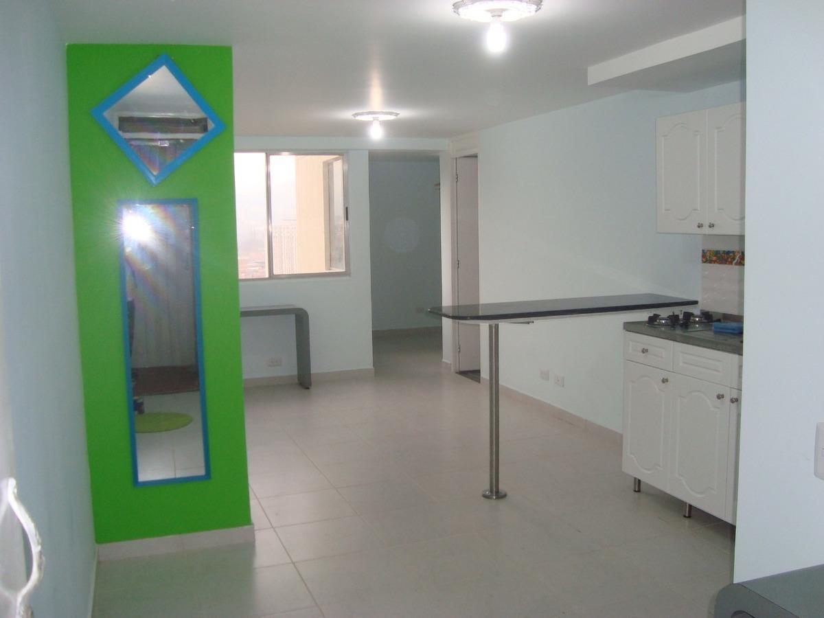 apartaestudio de 1 habitación privada,1baño, sala comedor.