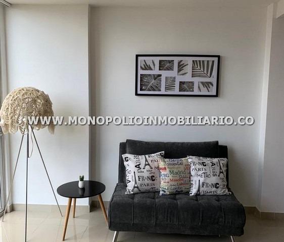 apartaestudio loft amoblado renta el poblado 17177