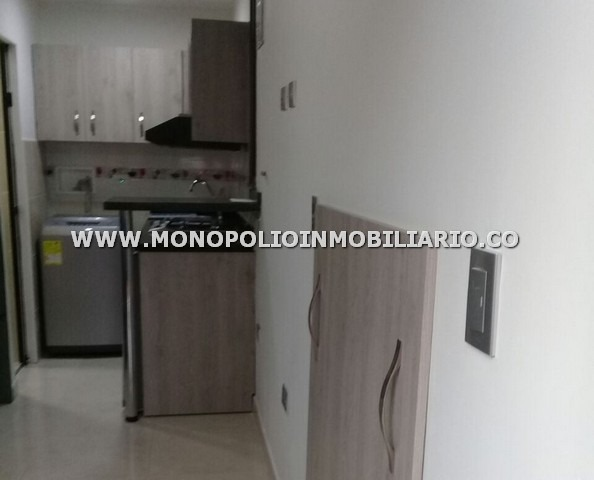 apartaestudio loft en arriendo  - laureles cod: 12665