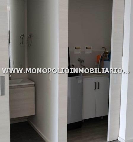 apartaestudio loft renta envigado cod: 17446