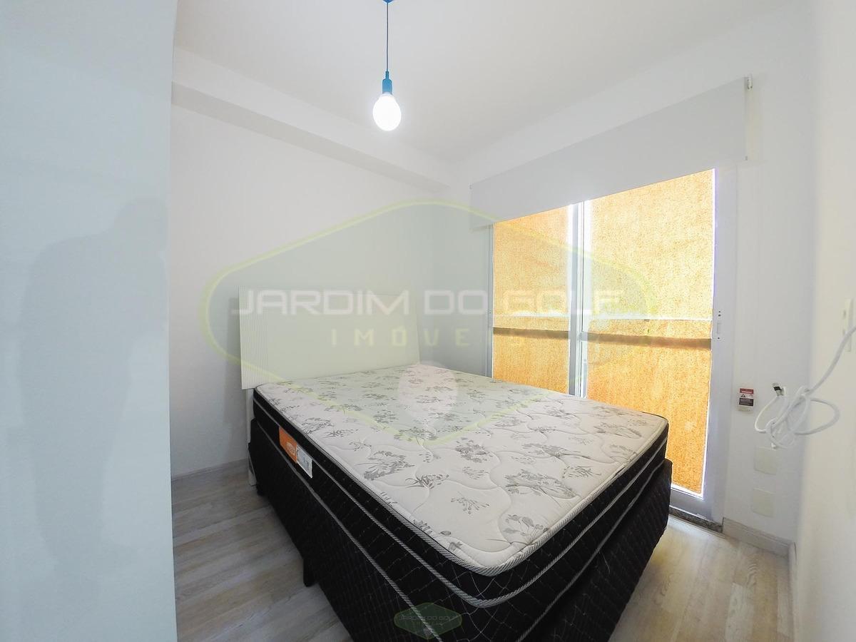 apartamento 01 dormitório metrô santo amaro - sp - 6318-1