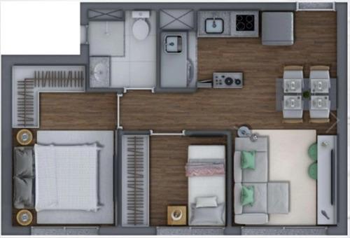 apartamento 01 dormitorio proximo metro belem