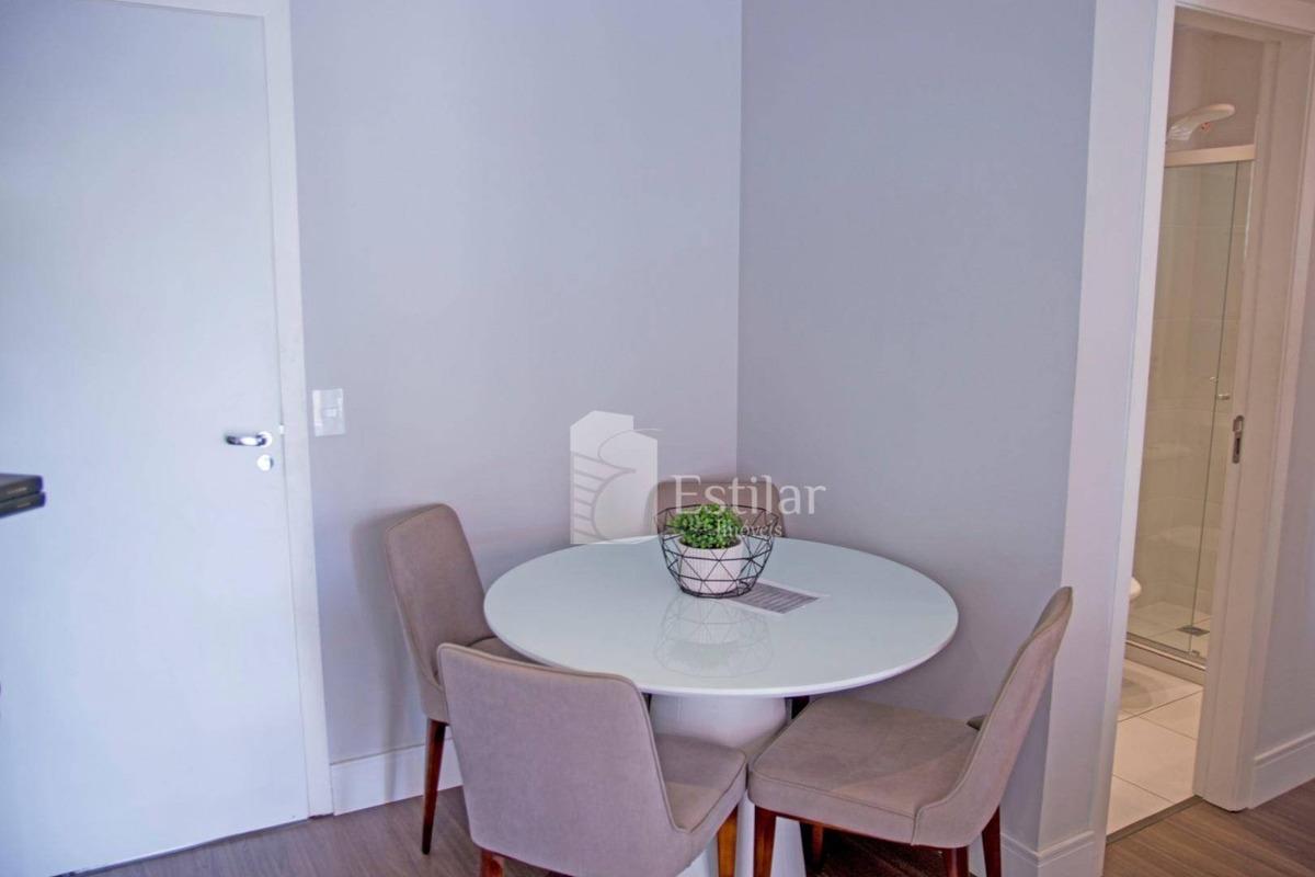 apartamento 01 quarto com garagem na colônia rio grande, são josé dos pinhais - ap2471