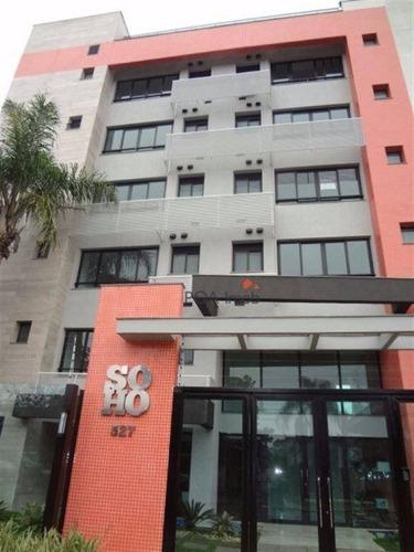 apartamento 01 suíte no soho connect, bairro crisstal, em porto alegre - ap0710