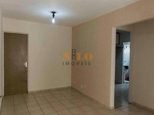 apartamento 02 dormitórios 01 vaga no marajoara! - 611