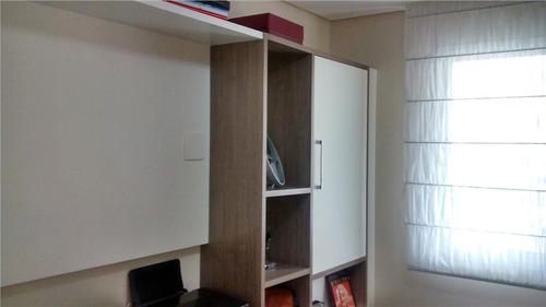 apartamento 02 dormitórios sendo 01 suíte, 02 vaga  - água rasa. - ap13278