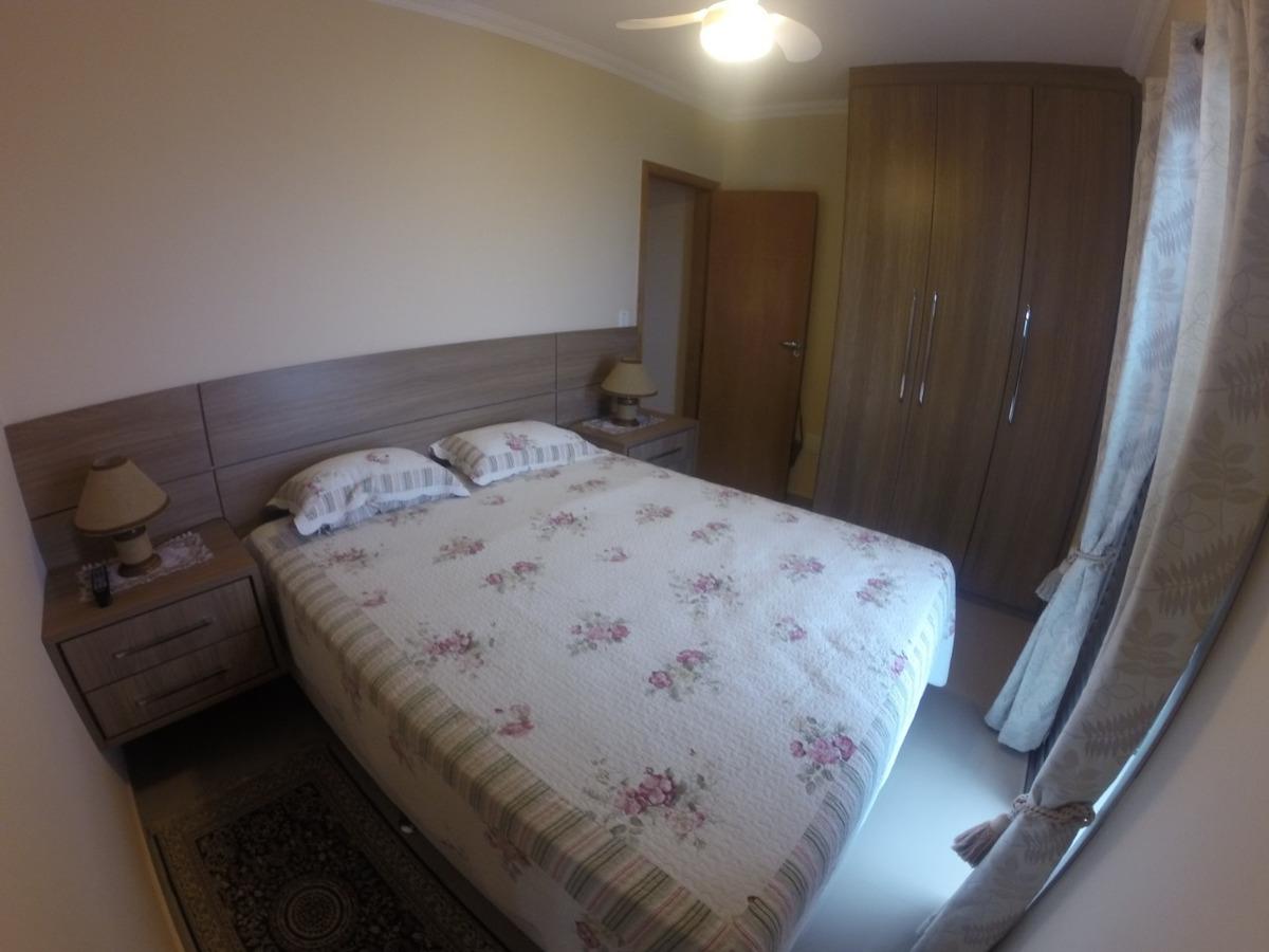 apartamento 02 dorms + 01 de empr , frente para o mar