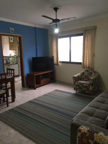 apartamento 02 dorms beira mar, flórida - praia grande - 240mil - v412384
