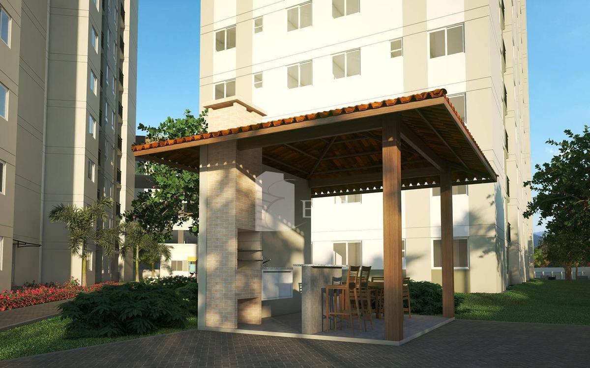 apartamento 02 quartos em joinville, santa catarina. - ap2839