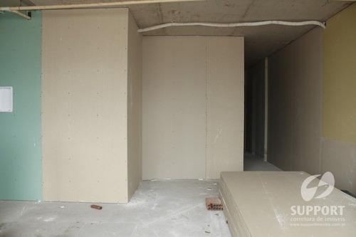 apartamento 02 quartos na praia do morro em 96x - v-560