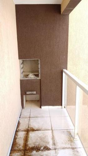 apartamento 02 quartos, sacada com churrasqueira à venda