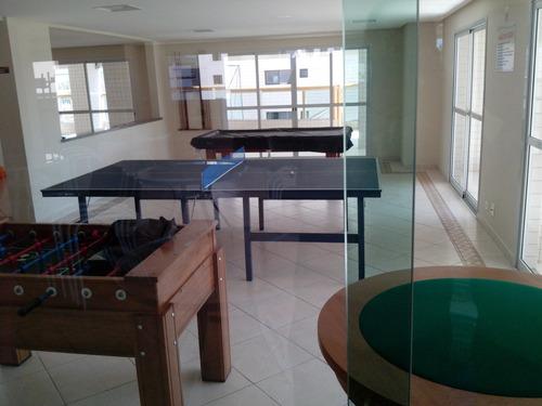 apartamento 02dorms, 02suítes, 01vag aviação praia grande sp