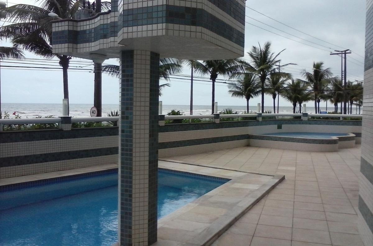 apartamento 03dorm. frente mar lazer piscina garagem urgente