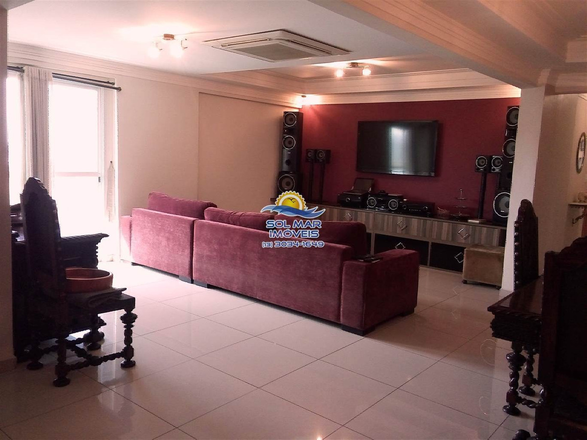 apartamento 04 dormitórios com 02 súites-guilhermina-praia grandeestuda permuta e veiculos - sp641