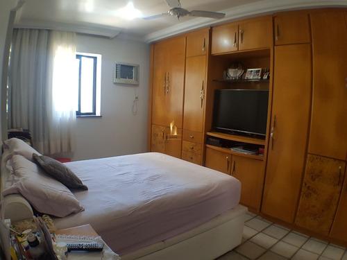 apartamento 04 quartos frente ao mar na praia de itaparica. - 19148