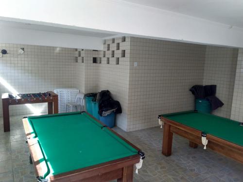 apartamento 1 dorm. 50 metros da praia com vista para o mar