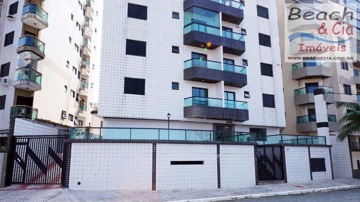 apartamento 1 dorm, ocian, praia grande, r$ 135 mil, ap00654