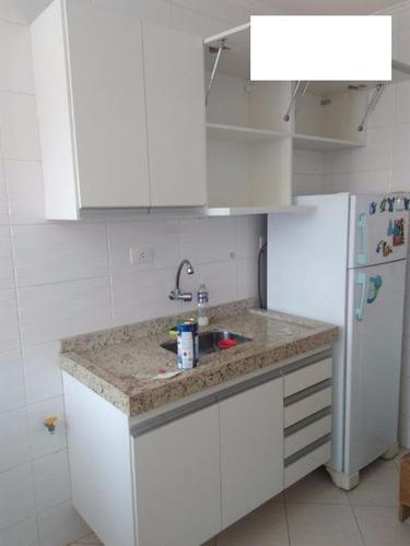apartamento 1 dorm,1vaga, 50m2, santo andré.ref.1580