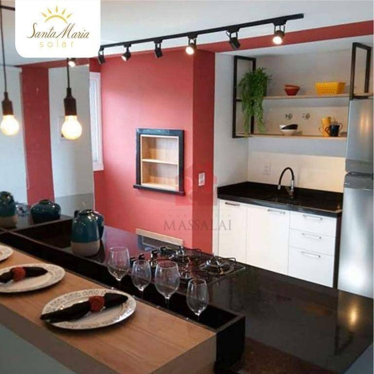 apartamento 1 dormitório decorado, 1 vaga de garagem - nossa senhora das graças - canoas - ap2370