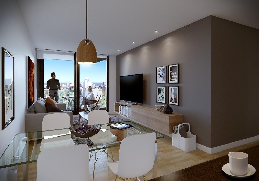 apartamento 1 dormitorio en el centro con patio