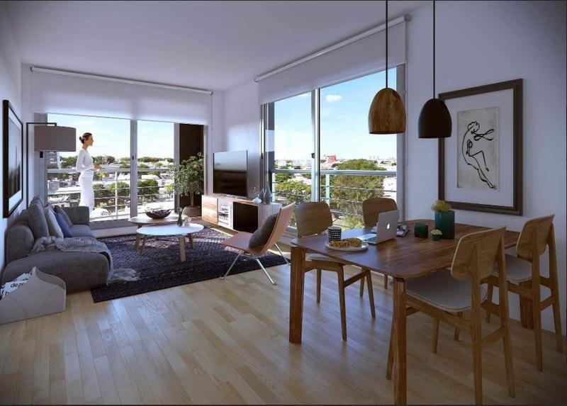apartamento 1 dormitorio en  venta, la blanqueada